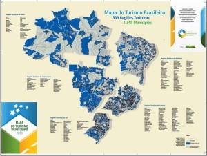 Mapar do Turismo Brasileiro