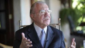 © Jefferson Rudy O ex-presidente e ex-senador José Sarney, em 2015.