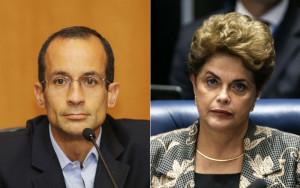 Marcelo Odebrecht e Dilma Rousseff (Foto: Giuliano Gomes/PR PRESS; Dida Sampaio/Estadão Conteúdo)