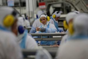 Exportação de carnes de frango, bovina e suína, juntas, somaram U$1,34 bilhão, segundo MDIC. (Foto: REUTERS/Ueslei Marcelino)