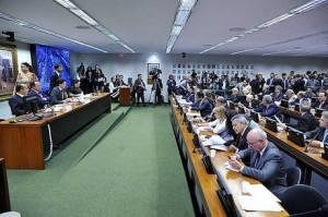 Comissão aprovou texto da reforma trabalista Alex Ferreira/25.04.2017/Câmara dos Deputados
