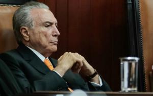 """Marcos Corrêa/PR - 16.3.2017 Temer: """"Se o PT tivesse votado nele naquele comitê de ética, seria muito provável que a senhora presidente continuasse"""""""