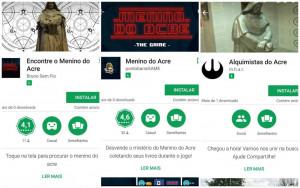 Sumiço misterioso de jovem do Acre inspirou jogos para celular (Foto: Reprodução)