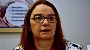 Aurimary Chermont afirma que misturar crianças e adultos no mesmo ambiente hospitalar é muito perigoso. (Foto: Mauro Ângel/Diário do Pará)